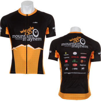 Wiggle Mountain Mayhem SS Cycling Jersey 2012