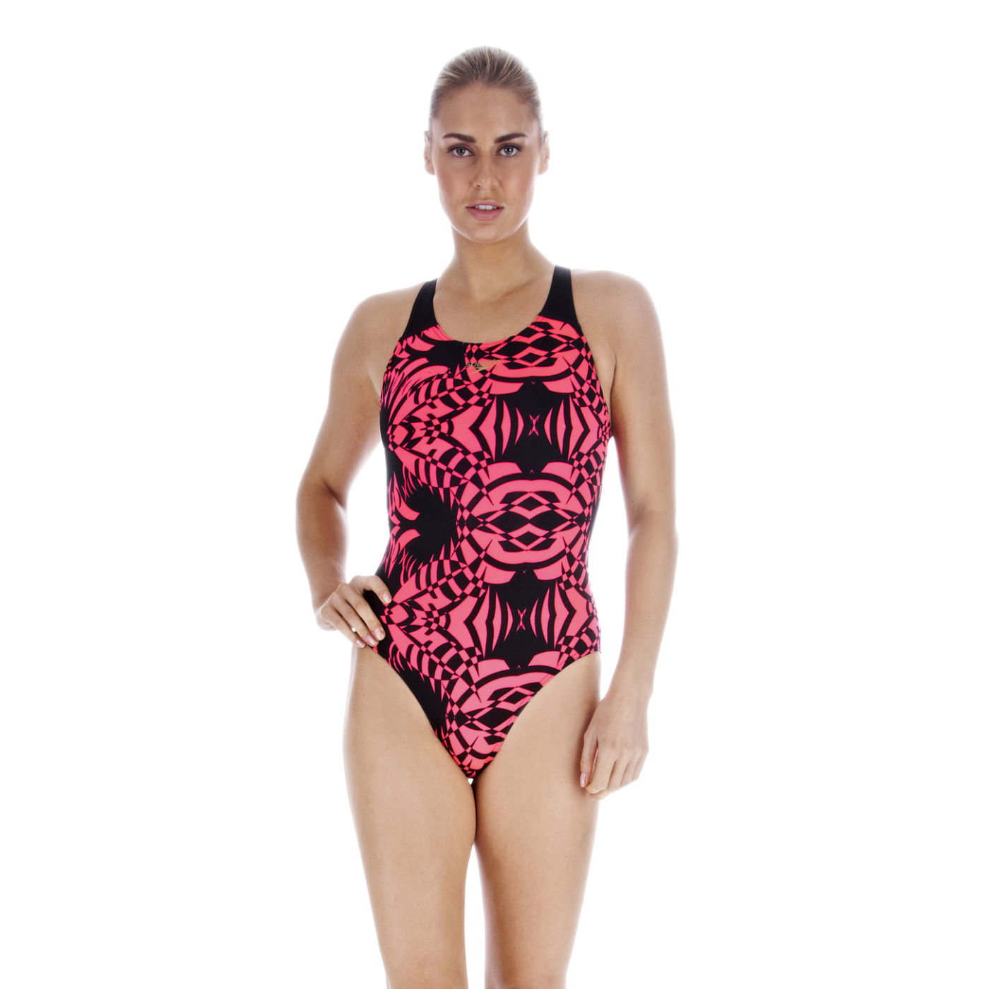 maillots de bain femme speedo ladies liquidturbo allover flexpowerback swimsuit wiggle france. Black Bedroom Furniture Sets. Home Design Ideas