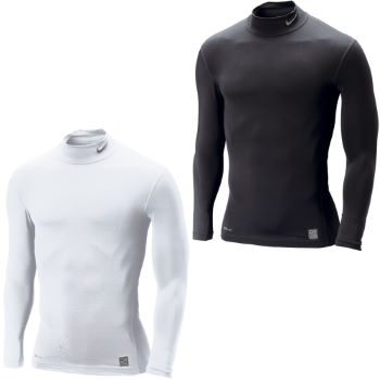 Nike Pro Core Long Sleeve Tight Mock AW12