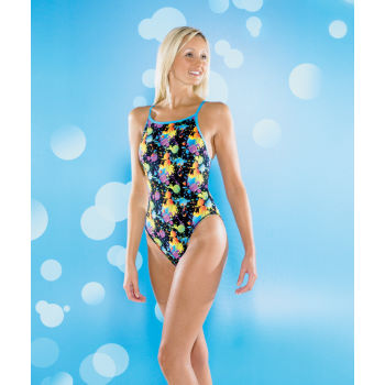 Maru Ladies AquaSport Splat Pacer Splish Back Swimsuit