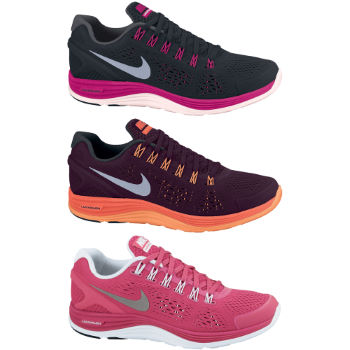Nike Ladies Lunarglide Plus 4 Shoes FA12