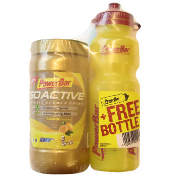 PowerBar Isoactive Sports Drink 600g and Free Bottle