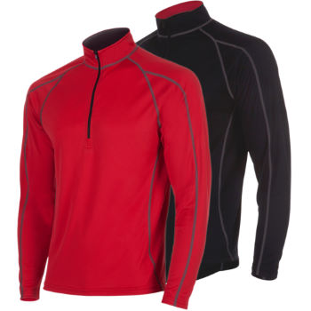 dhb Mens Corefit Long Sleeve Zip Neck Baselayer