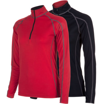 dhb Women's Corefit  L/S Zip Neck Baselayer AW12