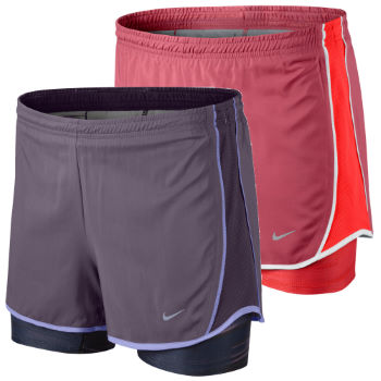 Nike Ladies 3.5 Inch 2 In 1 Tempo Short AW12
