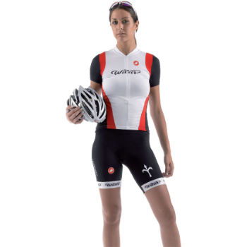 Castelli Ladies Wilier Short Sleeve Jersey - 2012