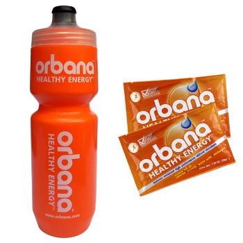 Orbana Specialized 750 ml Water Bottle + 2 Free Sachets