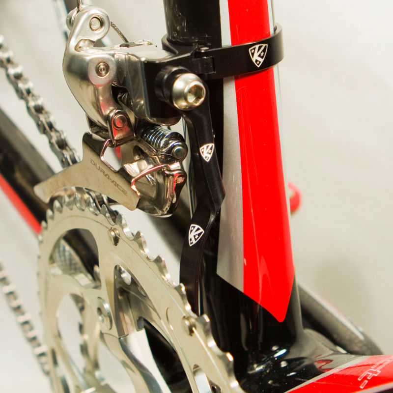 Wiggle K Edge Braze On Adapter Clamp And Chain Catcher