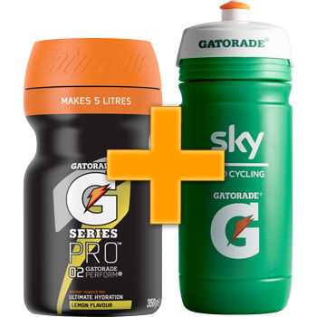 Gatorade G Series 02 Perform - Free Team Sky Bottle