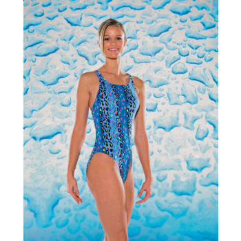 Maru Ladies Tigger Pacer Vault Back Swimsuit