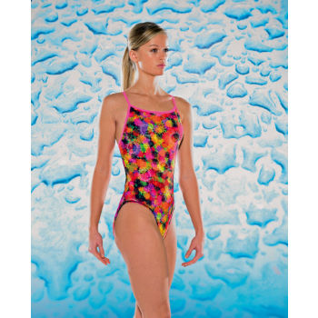 Maru Ladies Sun Ray Splish Back Swimsuit
