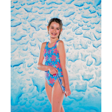 Maru Aqua Kids Girls Flower Power Auto Back
