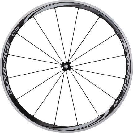 Shimano Dura Ace 9000 C35 Clincher Front Wheel 2014