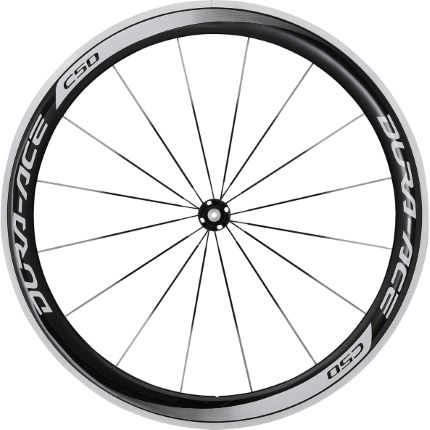 Shimano Dura Ace 9000 C50 Clincher Front Wheel 2014