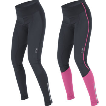 Gore Bike Wear Ladies Power Softshell Waist Tights - 2012