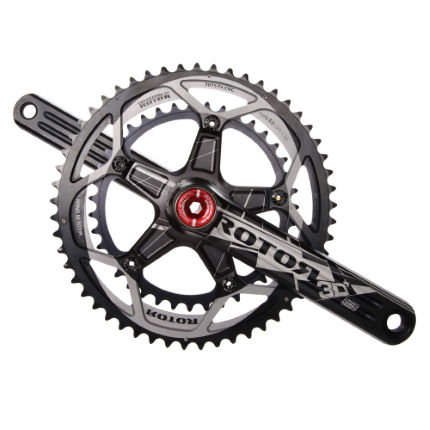 Rotor 3D Plus PF4630S Double Chainset with No Q-Rings