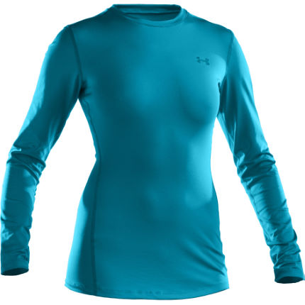 Under Armour Ladies ColdGear Fitted Crew Neck Base Layer