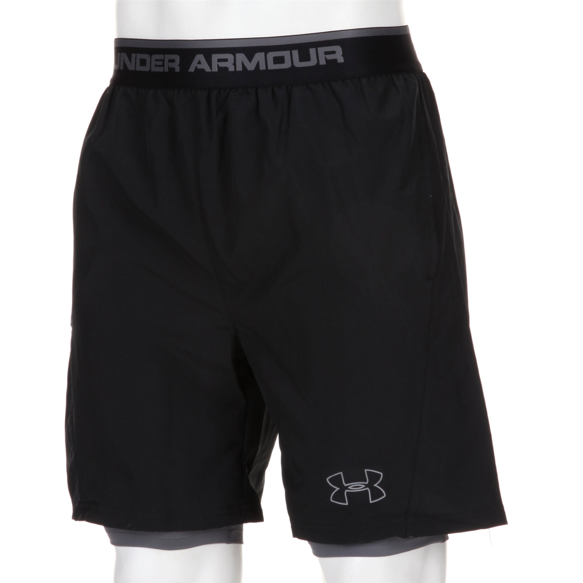 wiggle under armour seventh man 2 in 1 short ss13 running shorts. Black Bedroom Furniture Sets. Home Design Ideas