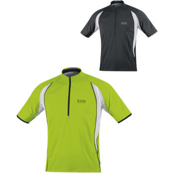 Gore Running Wear Air Zip Shirt SS12