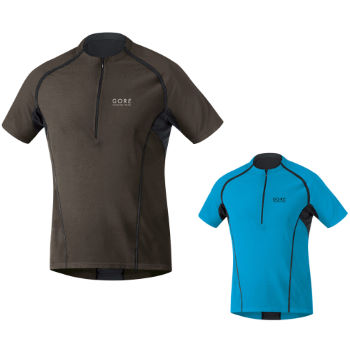 Gore Running Wear X-Running Zip Shirt SS12