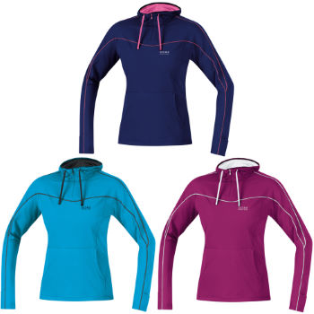 Gore Running Wear Essential Hoody Lady Shirt AW12