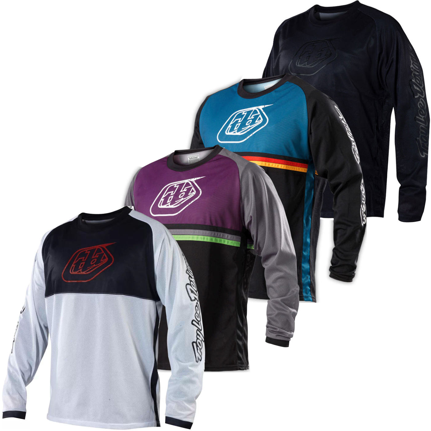 Troy Lee Sprint Long Sleeve Mtb Jersey Downhill