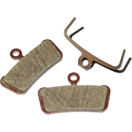 Avid X0 Trail Brake Pads Organic - Steel Backplate