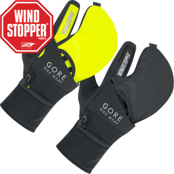 Gore Bike Wear Fusion WINDSTOPPER Softshell MTB Gloves