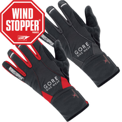 Gore Bike Wear Alp-X 2.0 WINDSTOPPER Softshell MTB Gloves