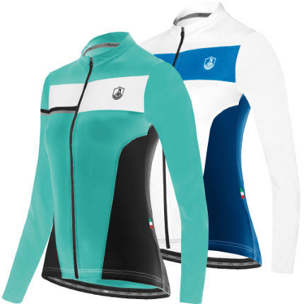 Campagnolo Ladies Universe Blanche Long Sleeve Jersey