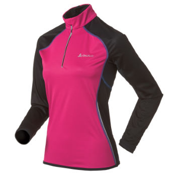 Odlo Ladies Long Sleeve 1/2 Zip Race Top