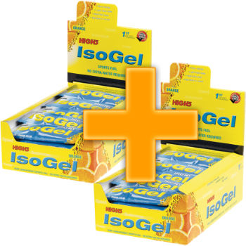 High5 IsoGel Sachets - 25 x 60g - Buy One Get One Free