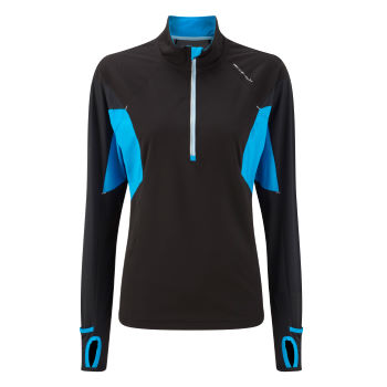 Ronhill Ladies Trail Cyclone 1/2 Zip Tee AW12