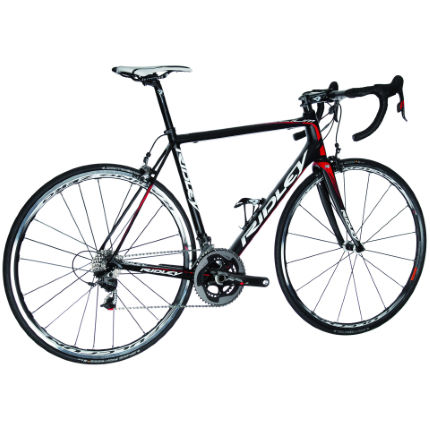 Ridley Helium SL Lotto Red 2013 Carbon/Red Medium