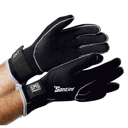 Santini Neoprene Waterproof Winter Cycling Gloves