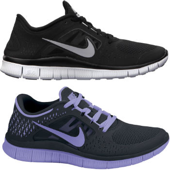 Nike Ladies Free Run Plus3 Shoes AW12