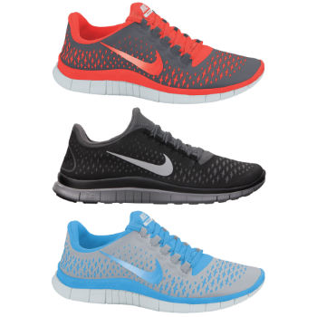 Nike Ladies Free 3.0 V4 Shoes AW12