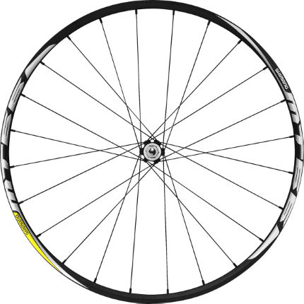 Shimano MT66 29er Centre-Lock (15mm Thru) Front Wheel