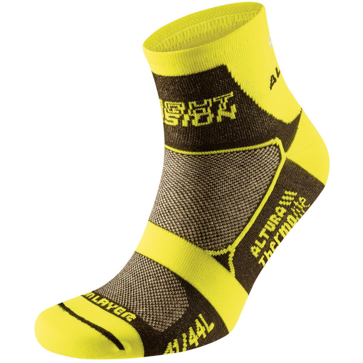Chaussettes vélo Altura Night Vision Thermolite - S Jaune