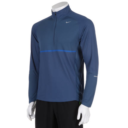 Nike Sphere Long Sleeve 1/2 Zip Run Top - AW12