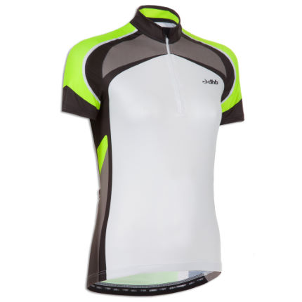 dhb Ladies Chase Short Sleeve Fluoro Cycling Jersey