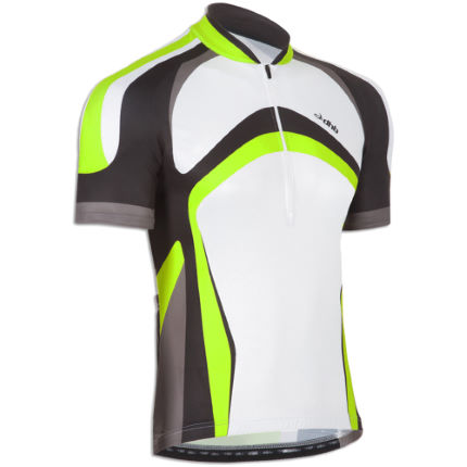 dhb Chase Short Sleeve Fluro Cycling Jersey