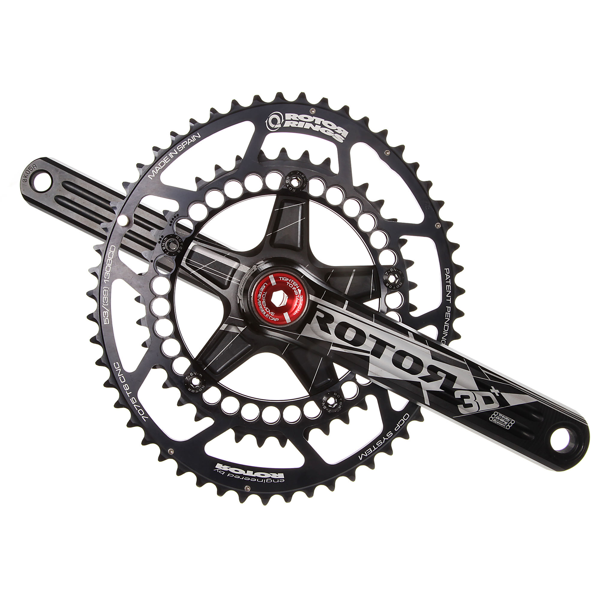 Rotor D Crankset With Q Rings
