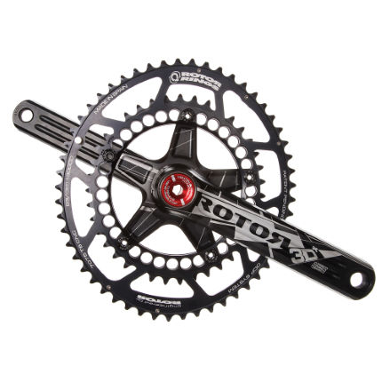 Rotor 3D Plus Double Chainset (BB30) with Q-Rings