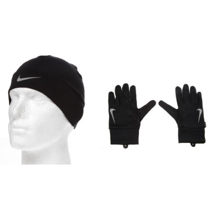 Nike Mens Running Dri-Fit Glove/Beanie Set SP13