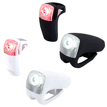 Knog Boomer 1 LED USB Rechargeable Light - Pair