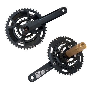 e.thirteen XC Triple Chainset (XCX PLus) with Chainrings