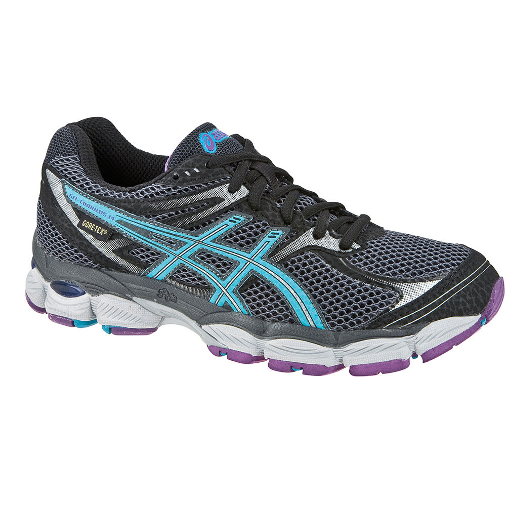chaussures de running amorties asics ladies gel cumulus 14 gore tex shoes wiggle france. Black Bedroom Furniture Sets. Home Design Ideas