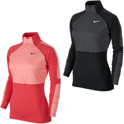 Nike Ladies Pro Shield Hyperwarm 1/2 Zip Top AW12