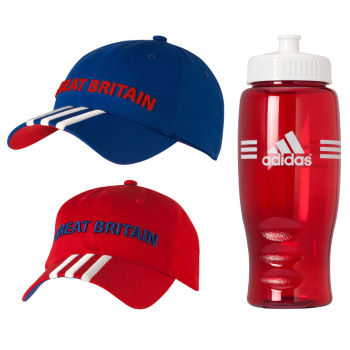 Adidas London Olympics 2012 Team GB Cap + Free Bottle
